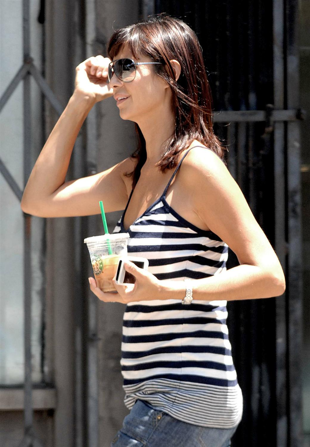 catherine bell goes shopping