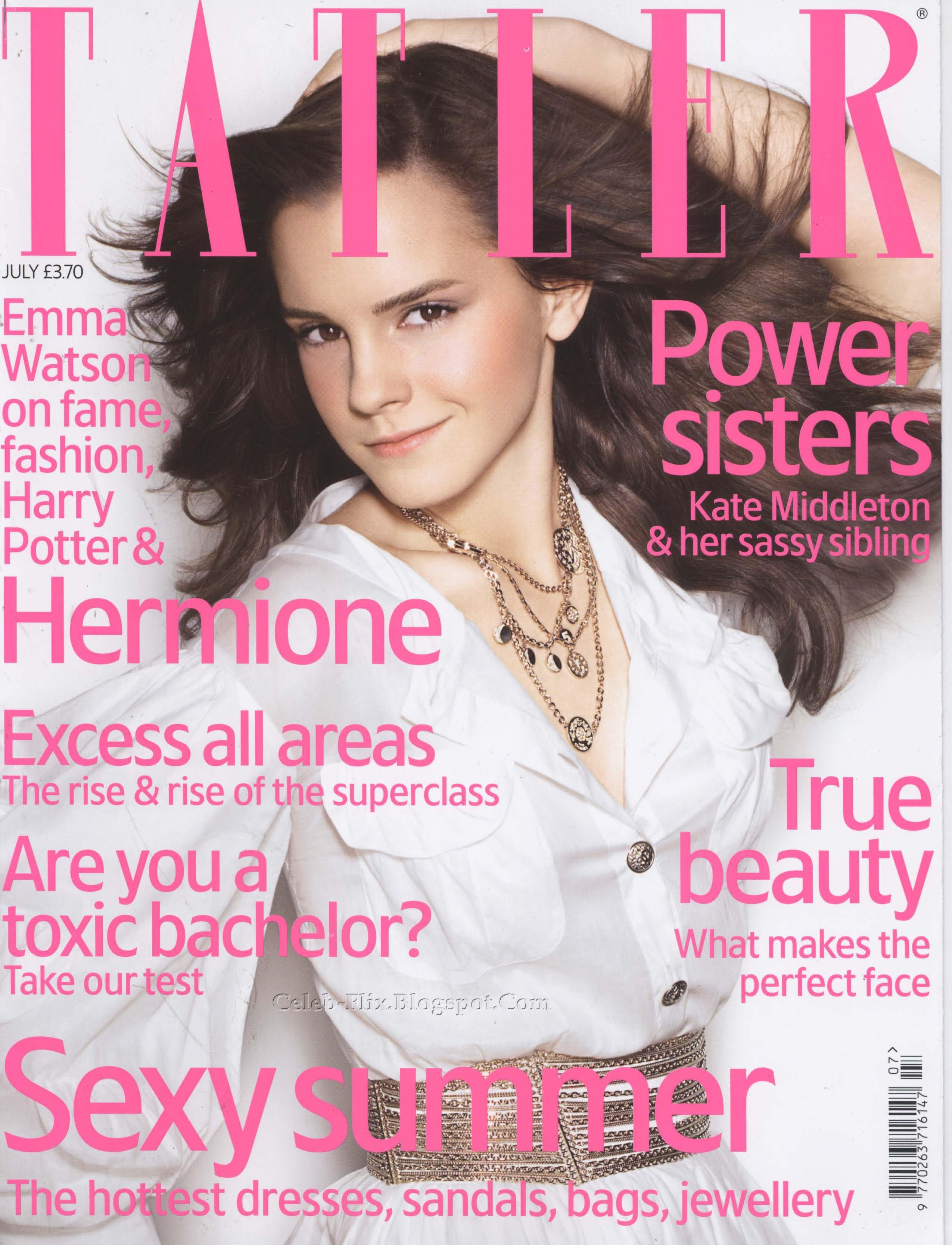 emma watson vs magazine essay How harry potter's hermione suffered a very hollywood fate sarah-jane stratford as hermione granger grew up, her bookish (played by emma watson.