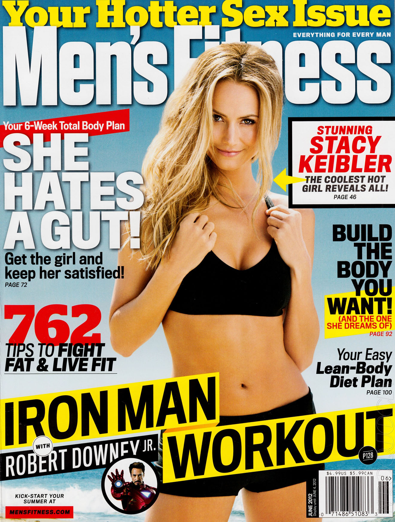 Stacy Keibler's Hotness Is Back For Men's Fitness